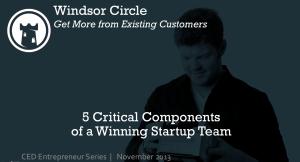 CED Entrepreneur Series Nov 2013